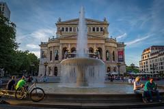 Alte opera (buxna) Tags: street building architecture opera frankfurt ffm
