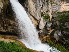 Cascate di Fanes (sgl0jd) Tags: dolomites dolomiti italy italia tirol mountains viaferrata mountaineering lakegarda lagodigarda cortinadampezzo corvarainbadia scrambling climbing