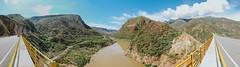 Puente Gomez Ortiz (Sebastin Valero) Tags: puente gomez ortiz panoramica paisaje montaa cordillera rio bridge zapatoca santander