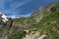 monte  la cabane Rambert (bulbocode909) Tags: valais suisse ovronnaz montagnes nature neige nuages paysages sentiers vert bleu