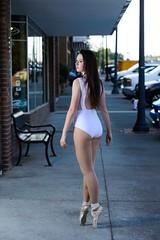 Urban Pointe (priceisright2293) Tags: dance dancer ballet ballerina pointe strobist paul c buff einstein westcott apollo orb nikon d600 nikkor 85mm 14g model portrait leotard
