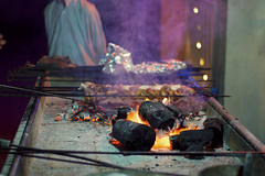 Barbecue (RafeyAhmedM) Tags: food fire meat barbecue coal charred