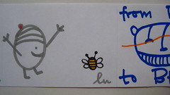 (lu.glue) Tags: urban streetart sticker handmade stickers basel creature lu autocollant kreatur kleber basilea gezeichnet bâle kreaturen dessiné chläber luglue