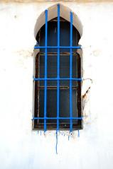 Rabat Window (PM Kelly) Tags: blue window paint drip morocco moor rabat