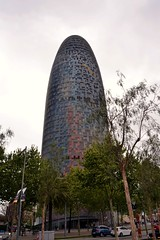 TORRE GLÒRIES (abans TORRE AGBAR) (Yeagov_Cat) Tags: barcelona catalunya avingudadiagonal torreagbar torre agbar b720arquitectos b720 jeannouvel 2005 b270 diagonal torreglòries glòries