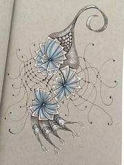 Tangle fun (toriasea) Tags: zentangles zendoodle zentangleinspiredart