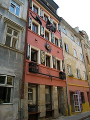 """Restored building in Jewish district • <a style=""""font-size:0.8em;"""" href=""""http://www.flickr.com/photos/75768291@N04/17149874606/"""" target=""""_blank"""">View on Flickr</a>"""
