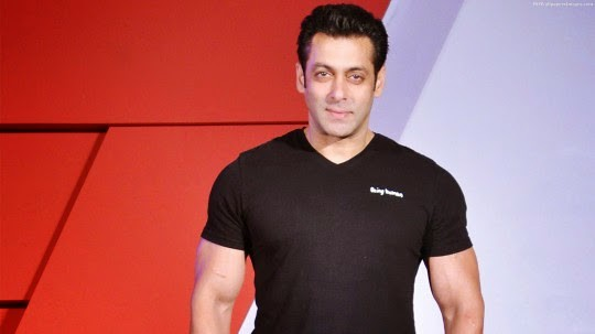 Salman Khan in Black T-Shirt HD Images | Celebrity HD Wallpapers