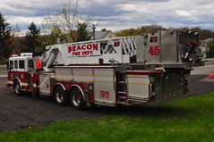 City of Beacon Fire Department Ladder 33-45 (Triborough) Tags: ny newyork tower alf firetruck fireengine ladder beacon bfd dutchesscounty americanlafrance lti towerladder cbfd ladder45 cityofbeaconfiredepartment ladder3345