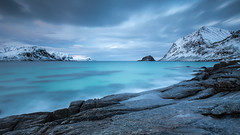 haukland (christian.denger) Tags: seascape norway canon eos long exposure lee lofoten 6d 1635 haukland 1635mmf4l