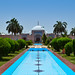 Shahjahan Mosque Fountain Front