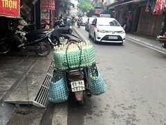 Milk delivery (Bex.Walton) Tags: travel milk vietnam hanoi streetscenes oldquarter