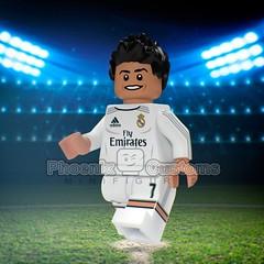 Cristiano Ronaldo - 2016 - Champions League Final (Phoenix Custom Bricks) Tags: madrid real football lego render soccer final custom futbol cristianoronaldo league champions minifigure minfig