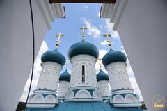 66. Paschal Prayer Service in Svyatogorsk / Пасхальный молебен в соборном храме г. Святогорска