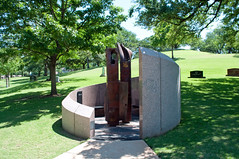 September 11 memorial (stevesheriw) Tags: austin memorial texas worldtradecenter september11 nationalregisterofhistoricplaces texasstatecemetery 86001085