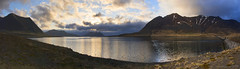 as night settles over mountains and lakes (lunaryuna) Tags: sunset sky panorama lake mountains clouds season landscape iceland spring sundown dusk lunaryuna cloudscape nightfall snaefellsnespeninsula westiceland lightmood seasonalwonders