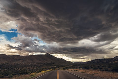 Chasing epic stuff. (mnlphotography) Tags: road travel storm clouds canon landscape skies tokina adventure explore 7d epic tokina1224mm tokinaaf1224mmf4 7dmarkii 7dmark2