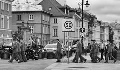 New Recruits (WrldVoyagr) Tags: bw soldier lumix streetphotography poland polska panasonic warsaw warszawa pl mazowieckie gx7