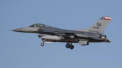 USAF/TXANG General Dynamics Block 30F F-16C Fighting Falcon 87-0235 (ChrisK48) Tags: airplane aircraft f16 sa viper lukeafb luf fightingfalcon glendaleaz kluf 87235 generaldynamicsf16c texasang lonestargunfighters 149thfighterwing txang texasairnationalguard 182ndfightersquadron block30f usaf870235 cn5c496
