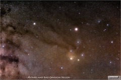 Antares and Rho Ophiuchi Cloud Region Wide-Field View (LeisurelyScientist.com) Tags: mars night canon dark stars darkness space science nebula astrophotography barnard planets astronomy nightsky saturn messier constellation milkyway astronomer scorpius antares ophiuchus skytracker canon6d ioptron tomwildoner leisurelyscientist leisurelyscientistcom