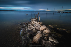 On the Rocks @Bages (Benjamin MOUROT) Tags: longexposure france nature french landscape view pov paysage lente aude francia narbonne gruissan peyriacdemer bages languedocroussillon filtre poselongue nd1000 nd110 retardateur photoshopcs3 1018mm faguo canon70d benjaminmourot lightroom5