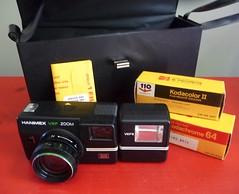 What I got at the Donnybrook :) (say cheez) Tags: camera old 2 ontario film analog 35mm vintage kodak auction 110 64 kodachrome bargain warkworth donnybrook hanimex vef