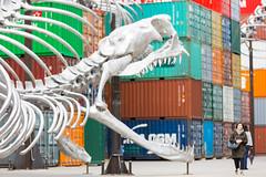 Monumenta 2016 (ghislaine_m) Tags: artcontemporain acrobate containers grandpalais yamakasi conteneur monumenta huangyongping acadmiefratellini acrobateurbain