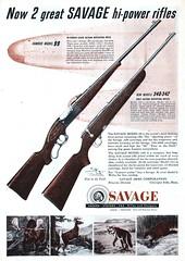 Savage - 19501100 Sports Afield (Jon Williamson) Tags: history vintage advertising ad vintageadvertising vintagead vintascope