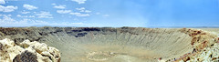 Barringer Meteor Crater (C r u s a d e r) Tags: park arizona desert crater meteorcrater barringer ptgui winslowaz pentaxk3