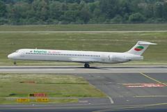 Bulgarian Air Charter McDonnell Douglas MD-82 LZ-LDS (EK056) Tags: airport air douglas dsseldorf charter mcdonnell bulgarian md82 lzlds