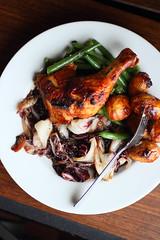 Chicken (Adventuress Heart) Tags: chicken legs baked