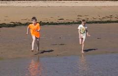 18-6-2016 (Copperhobnob) Tags: sea sun sunlight seaweed beach water coast scotland sand waves fife elie eastneuk