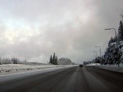 Ball spruce along the Helsinki - Lahti motorway in March (20120311) (RainoL) Tags: road winter snow finland geotagged march fin 2012 mäntsälä uusimaa 201203 20120311 geo:lat=6080752900 geo:lon=2550763100