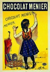 """Publicité """"Chocolat Menier"""" de 1893. (Static Phil) Tags: publicité 1893 vintageadvertising chocolatmenier"""