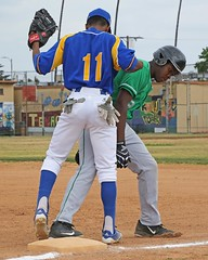 D123748A (RobHelfman) Tags: sports losangeles baseball highschool dorsey crenshaw