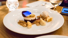 s'mores with caramelized bananas and peanut butter ice cream (frodnesor) Tags: bazaar miamibeach southbeach joseandres