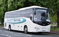 BX10DDN  Hunters, Guisley (highlandreiver) Tags: bus club town football coach long king yorkshire north swindon end preston fc coaches hunters wembley deepdale 2015 guisley bx10ddn