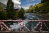 Taobut Kashmir (Awais Yaqub) Tags: bridge fence river kashmir slowmotion neelumvalley flowingriver