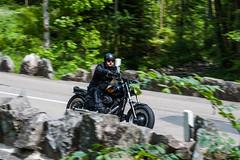 biker (offeneblende) Tags: germany deutschland nikon outdoor biker motorrad sonnenschein mitzieher motorradtour spritztour schneswetter badenwrrtemberg mitziehermotorrad