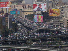 Traffic in Cairo is terrible!