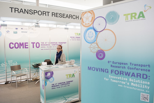 Transport Research Arena 2016 stand