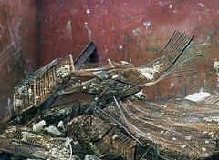 Fish Bones & Snake Skins (geowelch) Tags: toronto metal closeup scrap stclairwest urbanfragments olympusomdem5 torontophotowalkgroup panasoniclumixvario1445mm topwsc