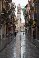 Whatever the weather (TBP-KIP1) Tags: street city travel people streets reflection travelling wet valencia rain weather composition canon reflections spain europe mediterranean european euro cities streetphotography dslr 70d russafa canon70d