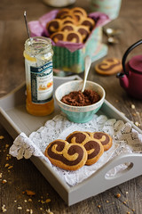 IMG_9687_exp (Helena / Rico sin Azcar) Tags: cookies chocolate palmeras butter vanilla palmier galletas vainilla mantequilla