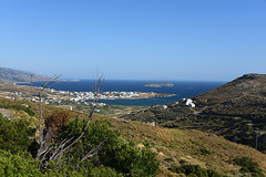 26-Grce Greece 07/2015 (Chanudaud) Tags: sea mer landscape island nikon village ngc greece paysage grce andros cyclades nationalgeographic le