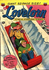 Lovelorn 23 (Michael Vance1) Tags: woman man art love comics artist marriage romance lovers dating comicbooks relationships cartoonist anthology silverage