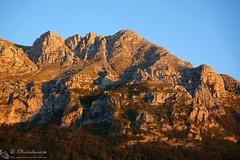 Croce di Bove nord al tramonto (EmozionInUnClick - l'Avventuriero's photos) Tags: tramonto montagna sibillini crocedibovenord