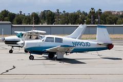 Private Mooney M-20E N990JD (jbp274) Tags: airport airplanes mooney fullerton ful m20 kful