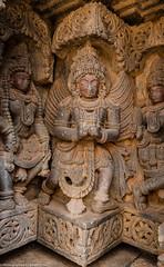 Lakshmi Narasimha Temple, Nuggehalli (bikashdas) Tags: india bangalore hassan karnataka ind hoysala karnatakatourism indiantourism hoysalaarchitecture nuggehalli chanarayapatna shrilakshminarasimhatemplenuggehalli