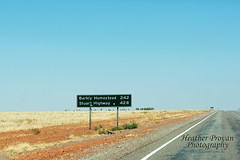 Stuart Highway 428k (stormgirl1960) Tags: road travelling sign dry australia queensland roadsign outback distance ontheroad northernterritory northbound topend darwinbound